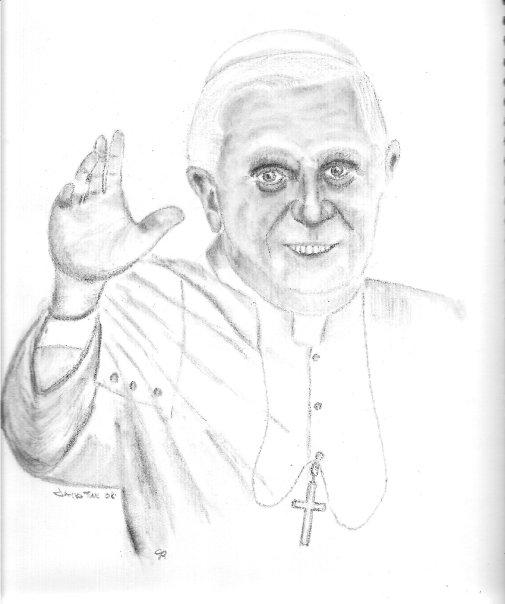 Pope Benedict XVI por jamestulk